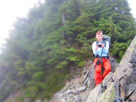 My climbing and adventure partner, Brenda.